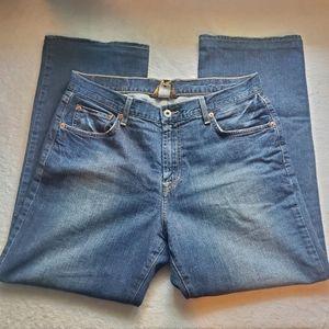 Lucky brand Dungarees short men's jeans
